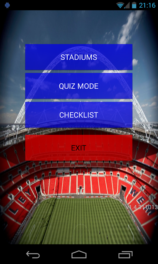 Football Stadiums - screenshot