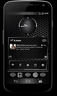 CM10 JB Theme: BLACK CARBON - screenshot thumbnail