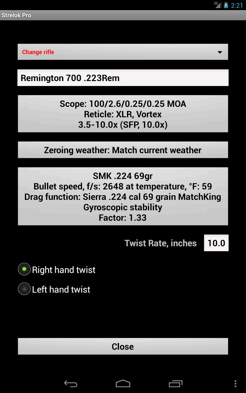 Strelok Pro Screenshot 17