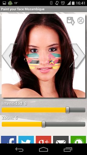 Paint your face Mozambique