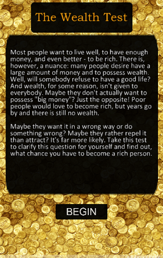 The Wealth Test