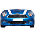 Mini Cooper battery widget logo