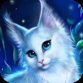Lovely white kitty Live WP