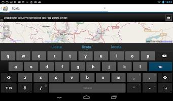 Screenshot of MobileMap Agrigento