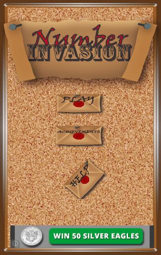 Number Invasion