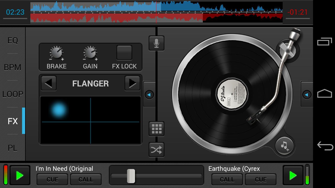 DJ Studio 5 - Free music mixer: captura de pantalla