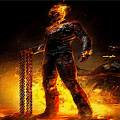 Ghost Rider Hell Fire LWP