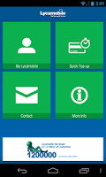 Screenshot of Lycamobile