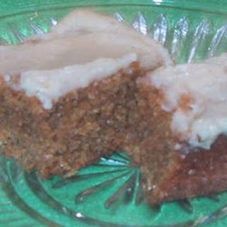 Iced-Spiced Ginger Bars