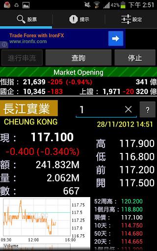 港股到價警報 Stock Alarm