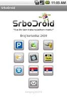 Screenshot of SrboDroid (СрбоДроид)