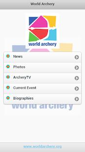 World Archery Live - screenshot thumbnail