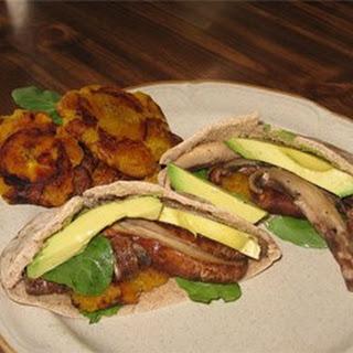 Mushroom Patacone Pita