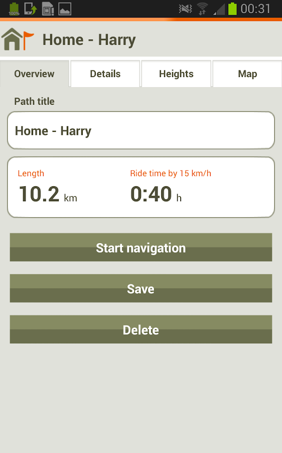 Naviki - The Bicycle App - screenshot