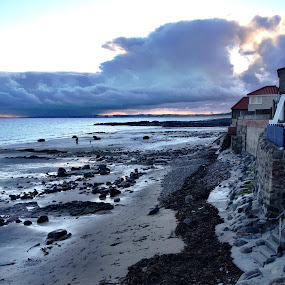 Sea Side by Jamie Tambor - Instagram & Mobile iPhone ( scotland, cliffs, st. andrews, ocean, travel, iphone,  )