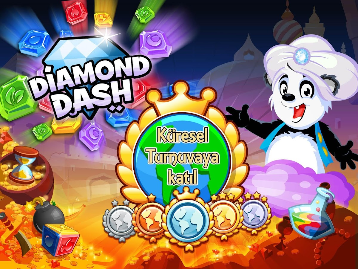 google play diamond dash