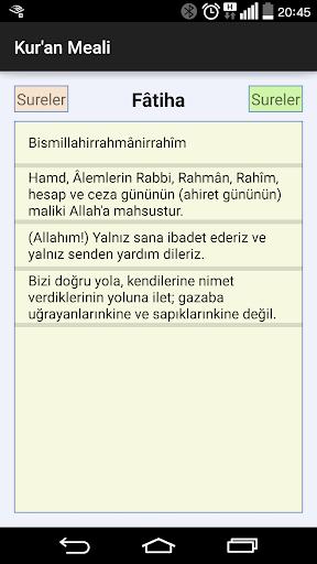 Kur'anı Kerim Meali