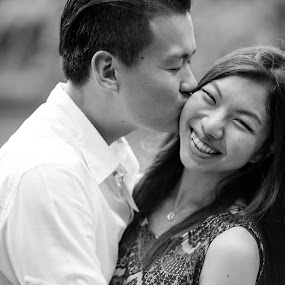 Love by Flo Yeow - People Couples ( blackandwhite, sexy, bw, lady, flotography, couple, bnw, people, aliandflo, , Free, Freedom, Inspire, Inspiring, Inspirational, Emotion )