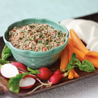 Vegetables with Pepita Dip