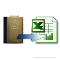 Phonebook to Excel icon