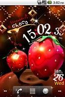 Screenshot of Strawberry Choco LiveWallpaper