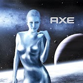 Axe Angel Alien Theme