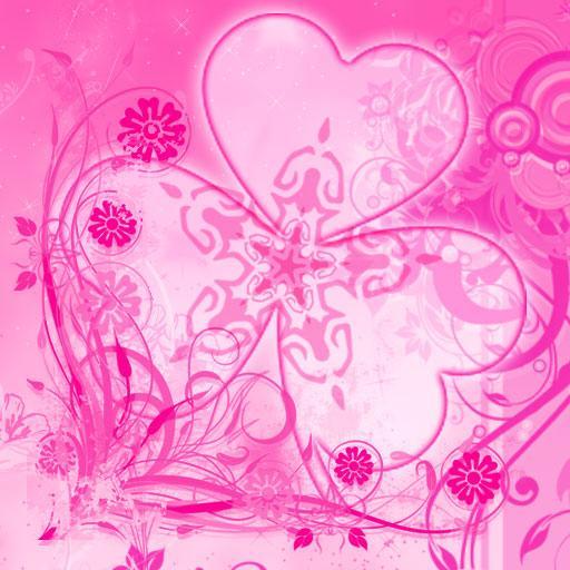 GO Launcher Pink Theme Flowers 個人化 App LOGO-硬是要APP