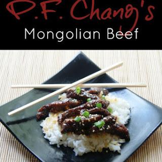 Copycat PF Chang's Mongolian Beef