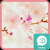 cherry blossom 카카오톡 테마