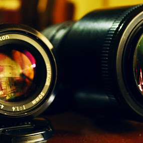 Lenses by Krishna Murti - Artistic Objects Other Objects ( lenses, krishna, fix, d3100, camera, nikkor, nikon, lens )