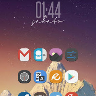 Download Stock UI Icon Theme Apex Nova 8.0 APK