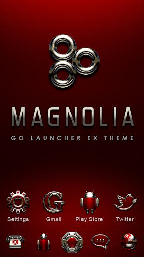 Magnolia GO Launcher Theme