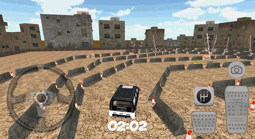 3D City Hummer Car Parking