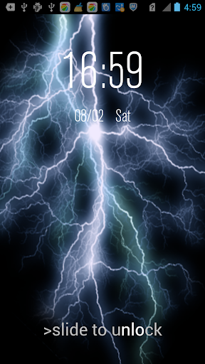 【免費娛樂App】Electric LWP-Thunder Prank-APP點子