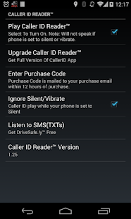 Caller ID Reader - Speak Calls - screenshot thumbnail