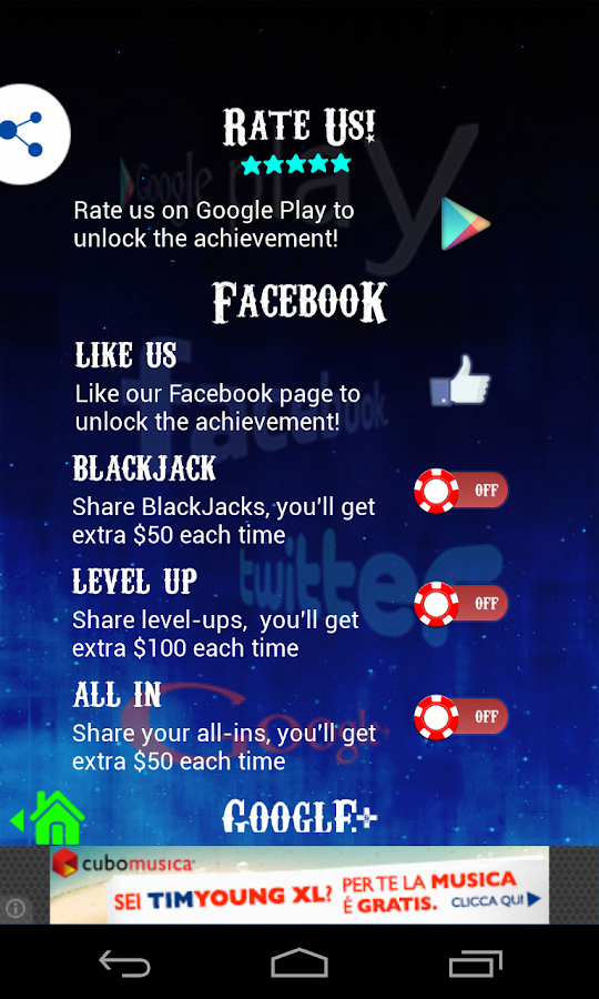 BlackJack 21 Free- screenshot