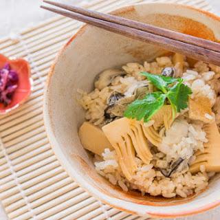 Oyster Rice (Kaki Meshi)