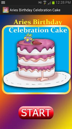 Aries Birthday CelebrationCake