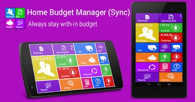 Screenshot of Home Budget Manager Lite
