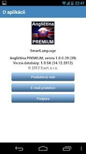 Angličtina PREMIUM SK - screenshot thumbnail