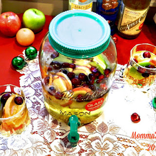 Holiday Sangria Surprise.