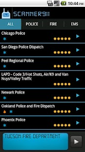 Scanner911 Police Scanner - screenshot thumbnail