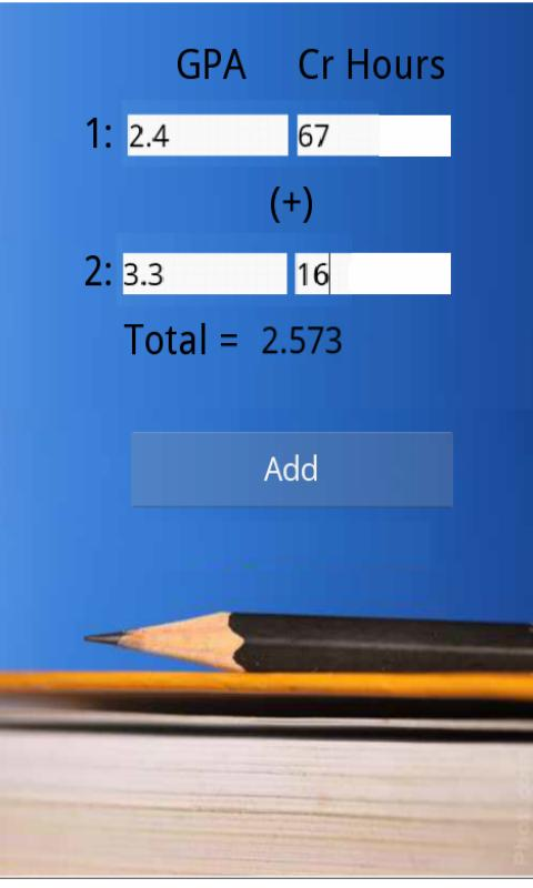 GPA Calculator Plus - screenshot