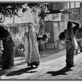 by Payal Das - Black & White Street & Candid
