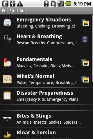 Pet First Aid - screenshot
