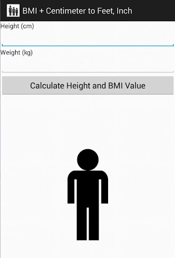 BMI + Centimeter to Feet Inch