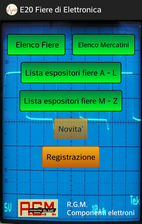 E20 Fiere di Elettronica- screenshot