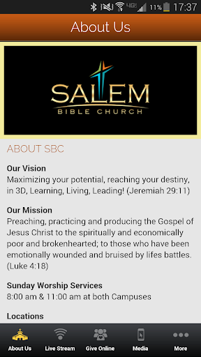 【免費生活App】Salem Bible Church-APP點子
