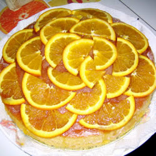 Orange Kiss-Me Cake.