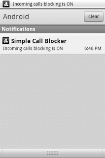 Simple Call Blocker - screenshot thumbnail